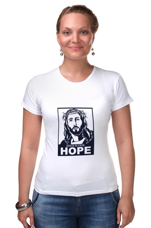 Футболка Стрэйч Printio Иисус - наша надежда иисус исцеляет больного пазлы