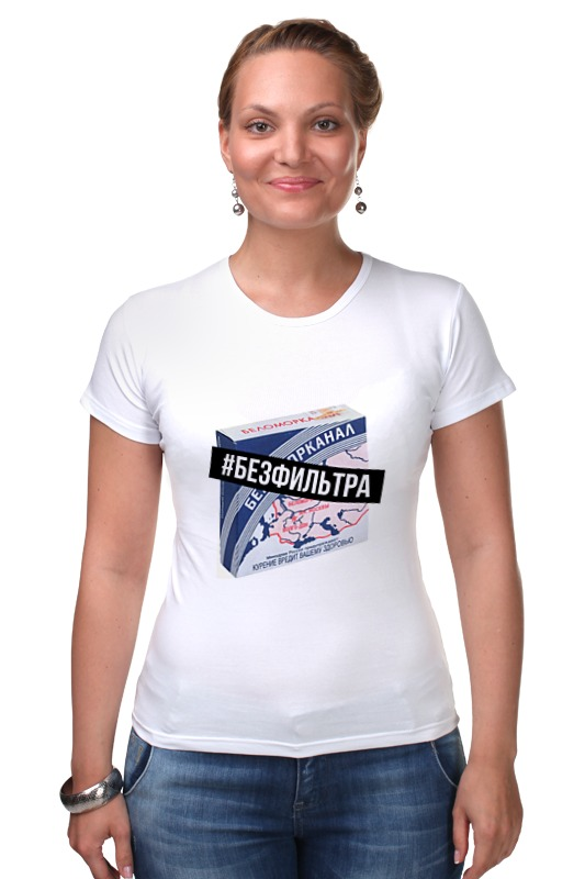 Футболка Стрэйч Printio #безфильтра by design ministry футболка рингер printio spb t shirt by design ministry