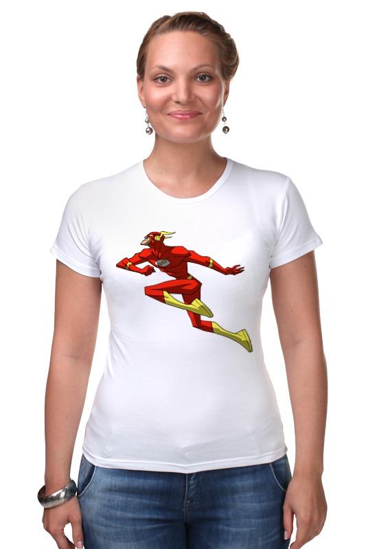 Футболка Стрэйч Printio Flash (молния)