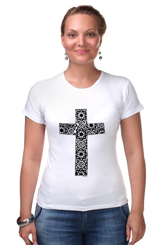 Футболка Стрэйч Printio Крест лонгслив printio армянский крест