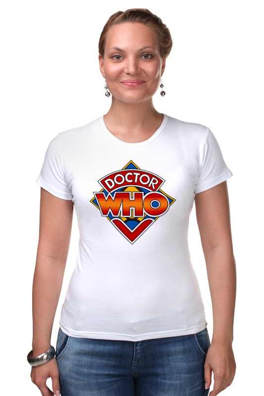 Футболка Стрэйч Printio Доктор кто (doctor who) футболка рингер printio доктор кто doctor who