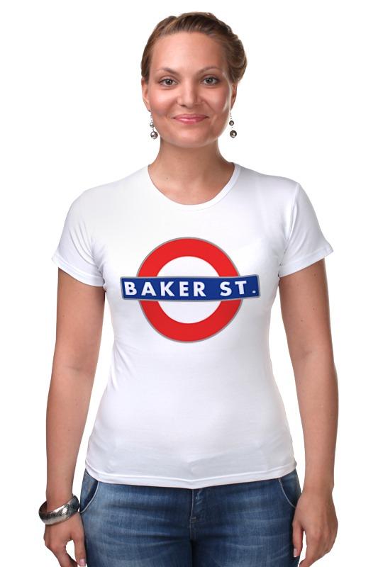 Футболка Стрэйч Printio Бейкер-стрит (шерлок) футболка стрэйч printio доктор кто х шерлок холмс