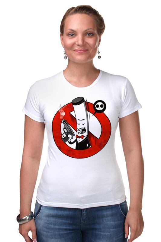 Футболка Стрэйч Printio Курение убивает! (сигарета) футболка классическая printio мачете убивает