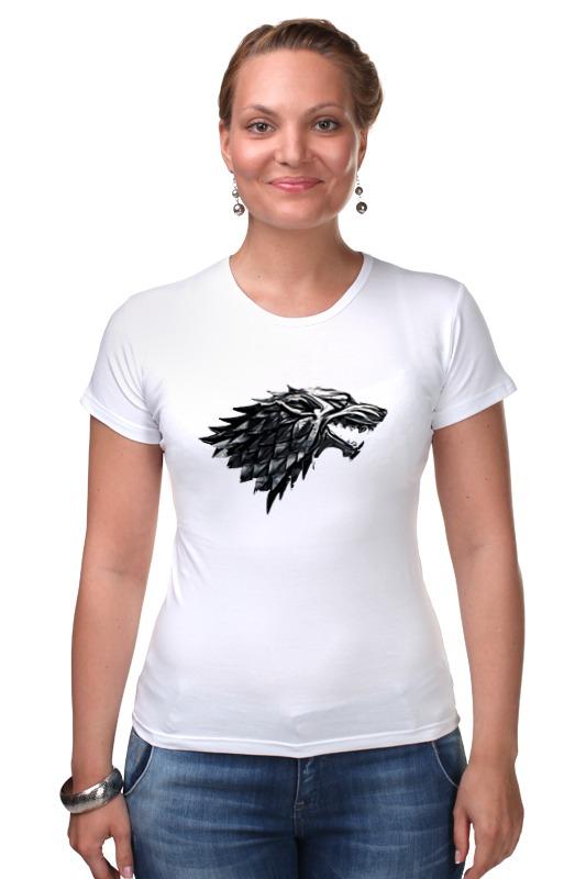 Футболка Стрэйч Printio Дом старков (игра престолов) футболка wearcraft premium printio игра престолов