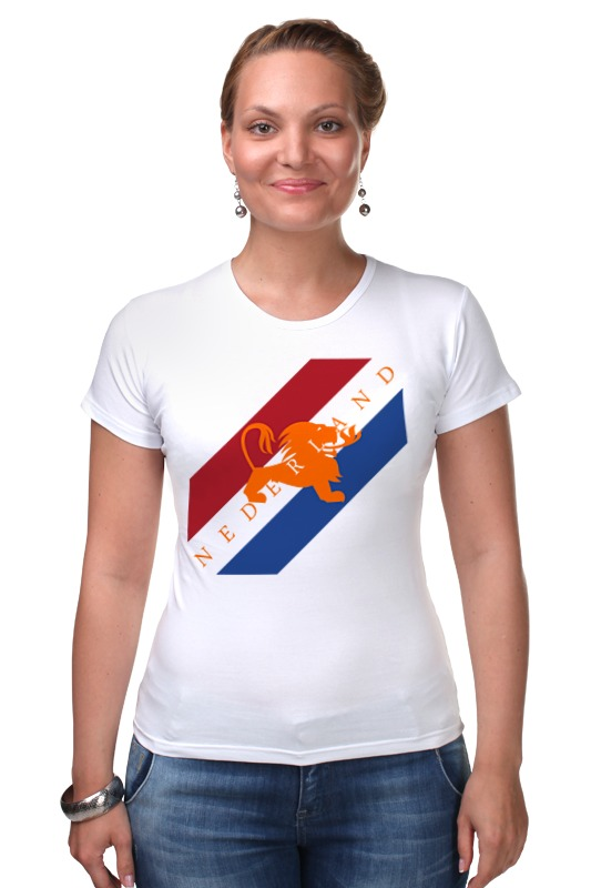 Футболка Стрэйч Printio Нидерланды футболка стрэйч printio нидерланды