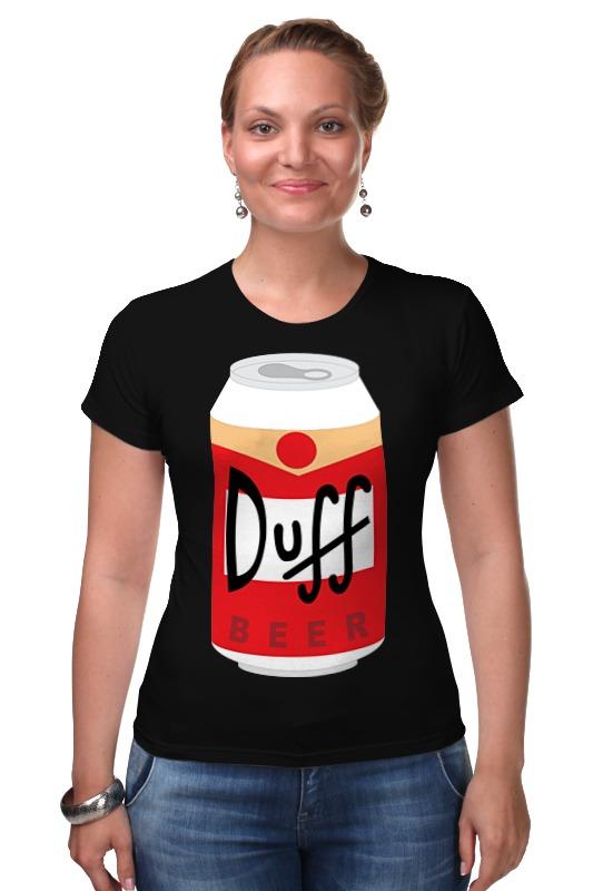 Футболка Стрэйч Printio Пиво дафф (duff beer) jana duff кулон