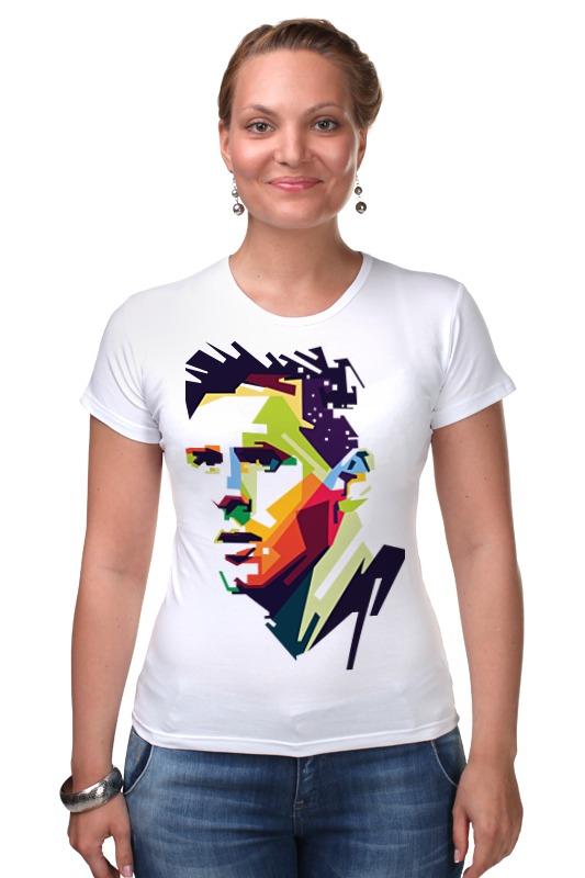 Футболка Стрэйч Printio Messi футболка классическая printio messi