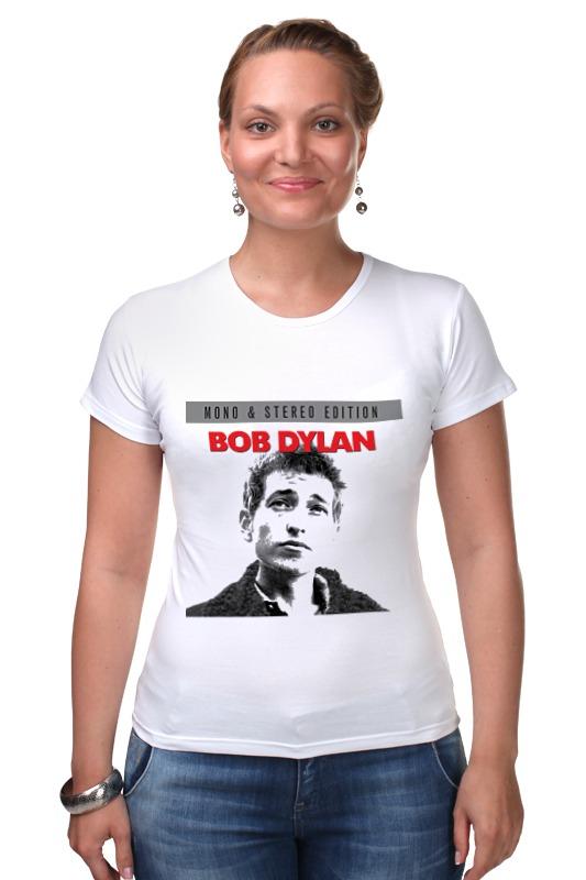Футболка Стрэйч Printio Bob dylan майка классическая printio bob dylan