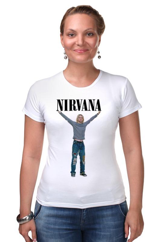 Футболка Стрэйч Printio Nirvana nirvana