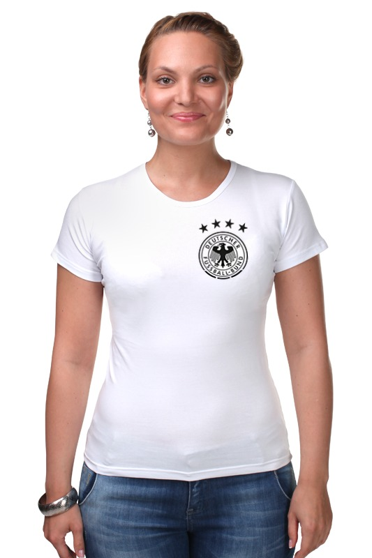 Футболка Стрэйч Printio Сборная германии по футболу 2016 футболка для беременных printio с пробегом по германии