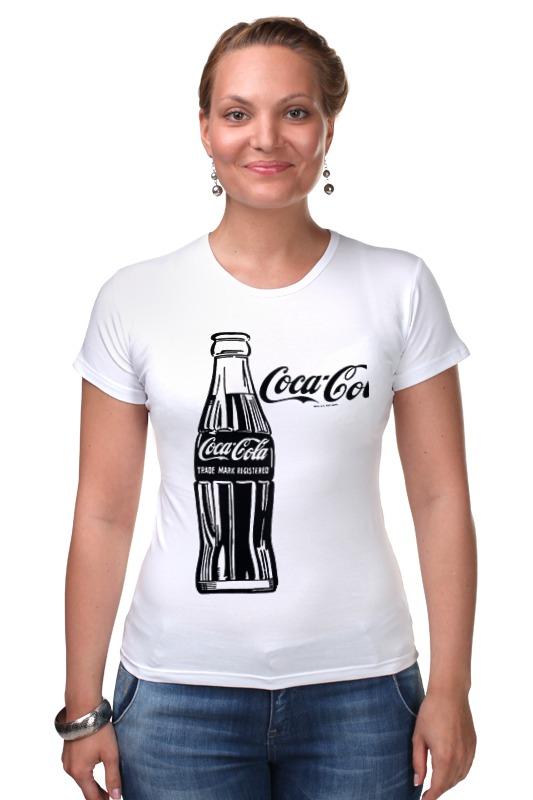 Футболка Стрэйч Printio Кока-кола (coca-cola) блок глюкоза конфеты кола 42г