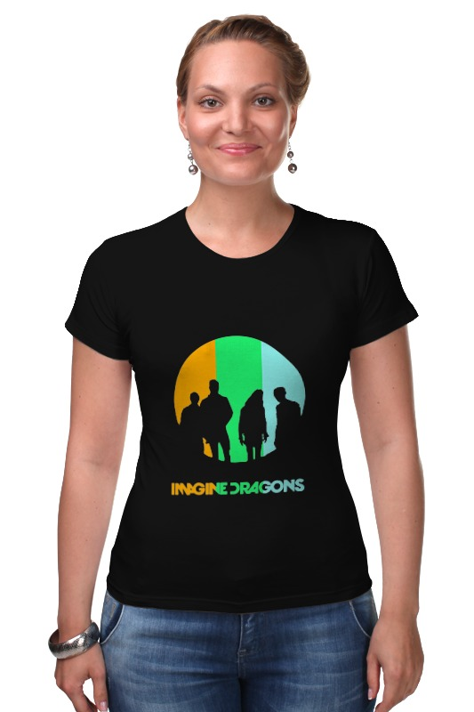 Футболка Стрэйч Printio imagine dragons dragons фигурка toothless сидящий