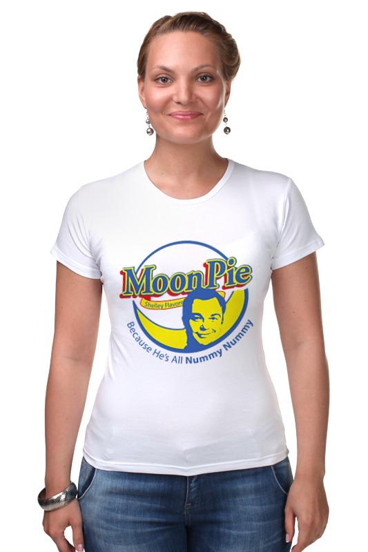 Футболка Стрэйч Printio Шелдон купер (moon pie) футболка стрэйч printio шелдон купер moon pie