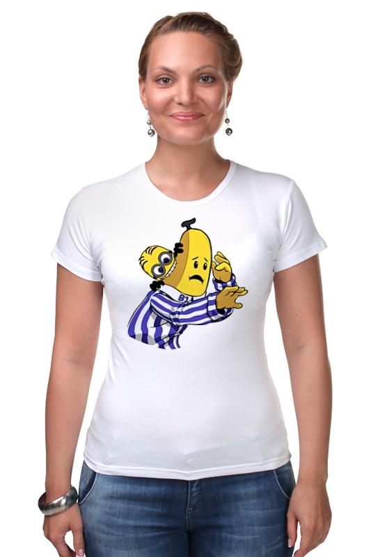 Футболка Стрэйч Printio Миньон банана футболка для беременных printio миньон  банана