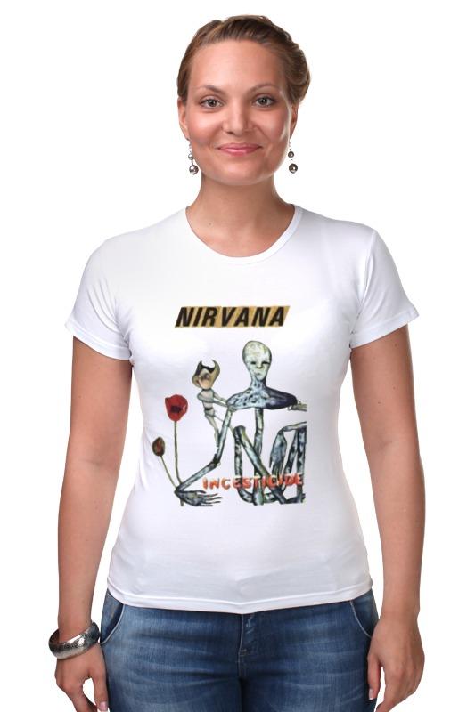 Футболка Стрэйч Printio Nirvana incesticide album t-shirt майка классическая printio nirvana incesticide album t shirt