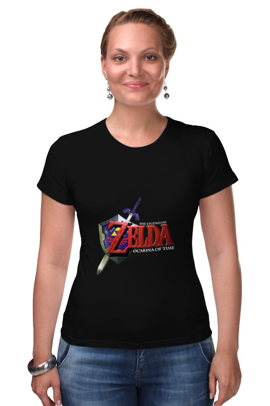 Футболка Стрэйч Printio The legend of zelda the legend of jig dragonslayer