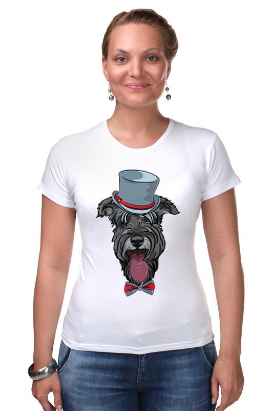 Футболка Стрэйч Printio Шнауцер как купить собаку в новосибирске породы ризеншнауцер без документов