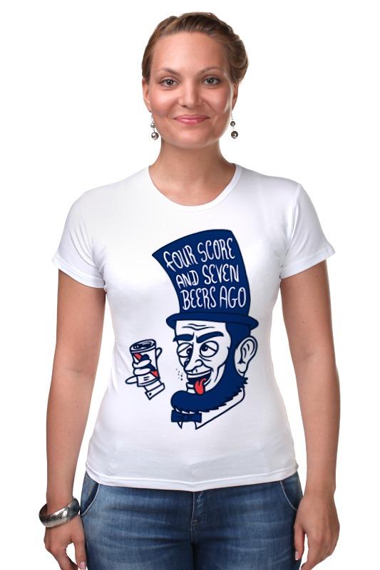 Футболка Стрэйч Printio Пьяный линкольн футболка стрэйч printio пьяный линкольн