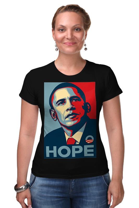 Футболка Стрэйч Printio Обама hope hope s
