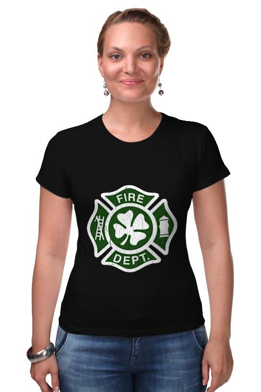 Футболка Стрэйч Printio Ирландский пожарный ирландский красно белый сеттер украина