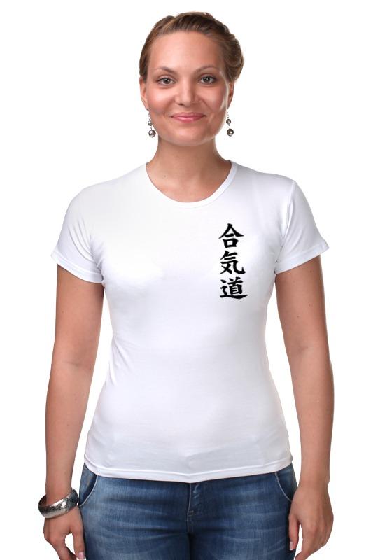 Футболка Стрэйч Printio Айкидо футболка для беременных printio айкидо