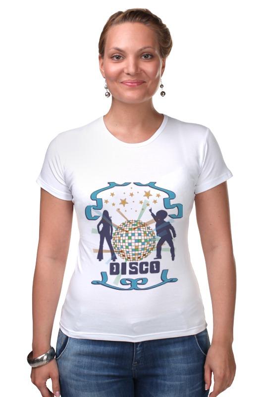 Футболка Стрэйч Printio Диско dreamgirl светящееся диско платье