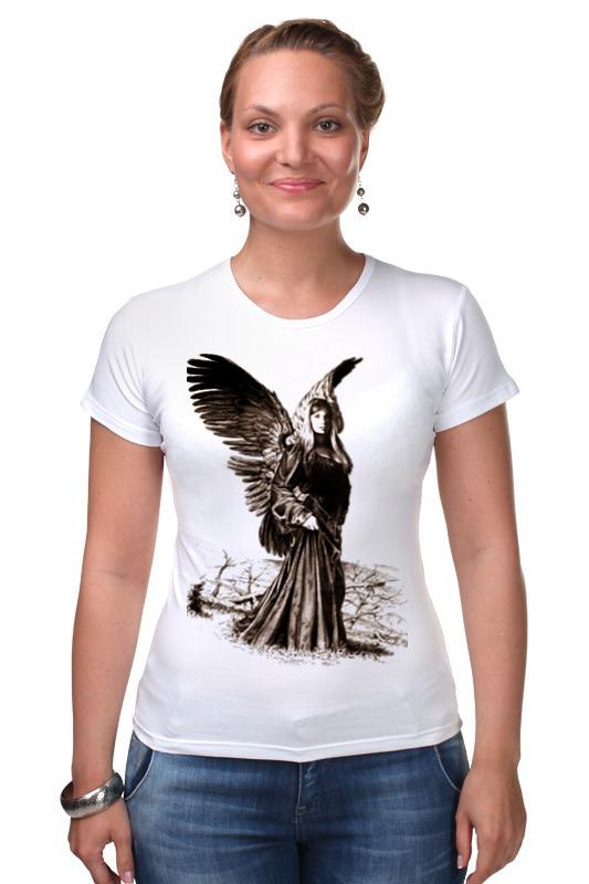 Футболка Стрэйч Printio Прекрасный ангел россия дорожная икона ангел хранитель