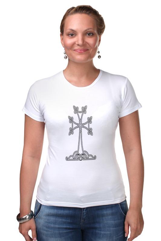 Футболка Стрэйч Printio Армянский крест лонгслив printio армянский крест
