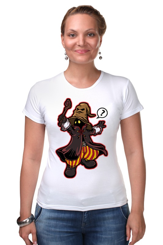 Футболка Стрэйч Printio Black mage (final fantasy) футболка классическая printio black mage final fantasy
