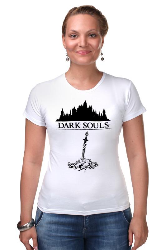Футболка Стрэйч Printio Dark souls dark souls prepare to die