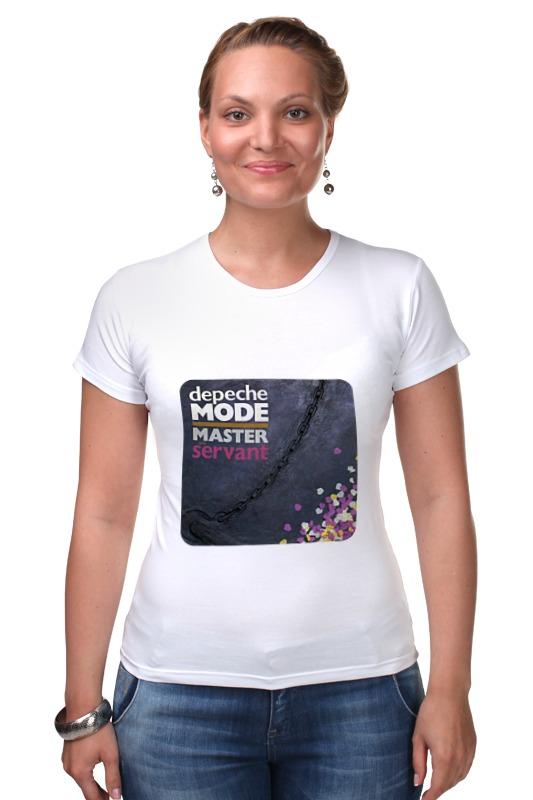 Футболка Стрэйч Printio Depeche mode футболка стрэйч printio хозяин морей