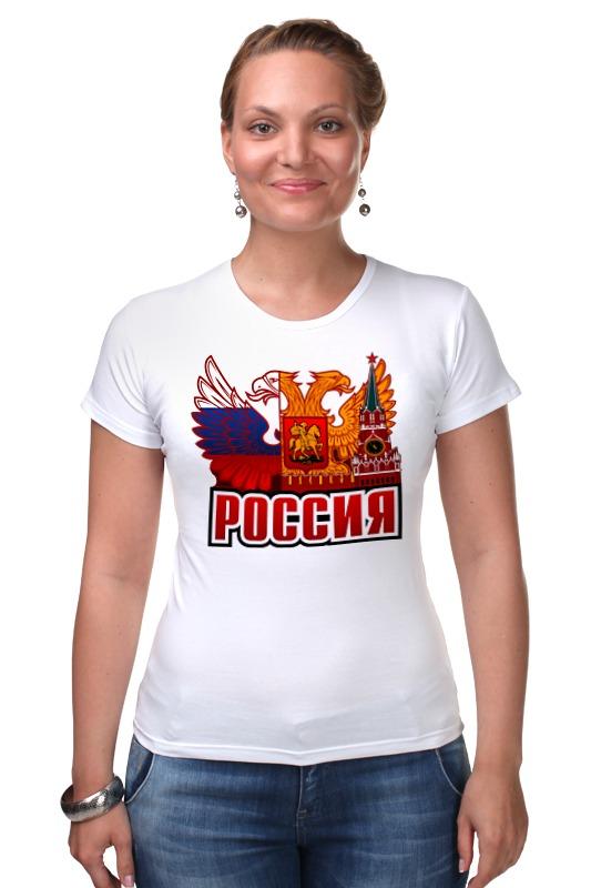 Футболка Стрэйч Printio Россия футболка стрэйч printio россия украина
