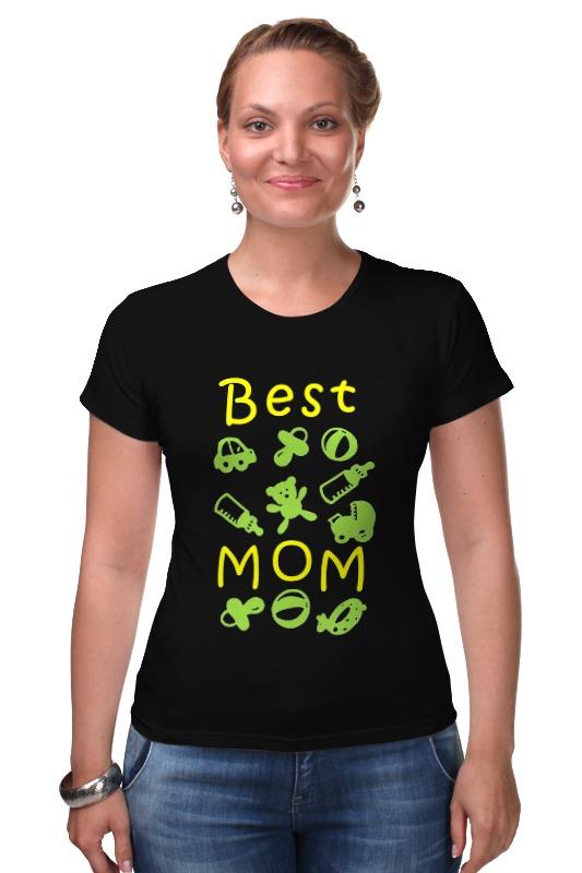 Футболка Стрэйч Printio Best mom футболка для беременных printio stay best mom in the world