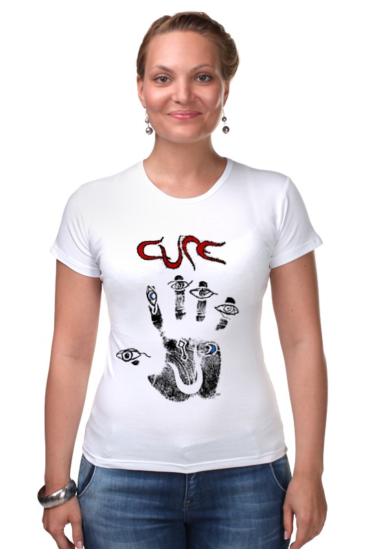 Футболка Стрэйч Printio The cure / wish толстовка wearcraft premium унисекс printio the cure wish