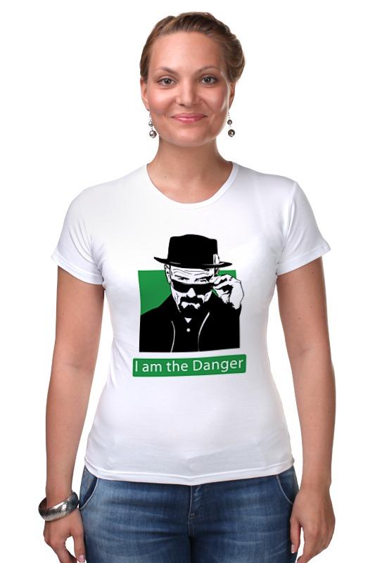 Футболка Стрэйч Printio I am the danger (breaking bad) детская футболка классическая унисекс printio i am the danger breaking bad