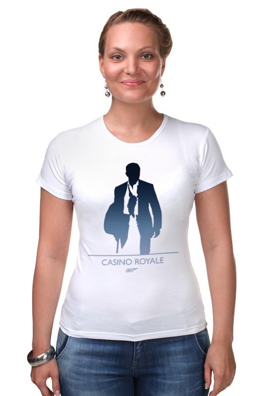Футболка Стрэйч Printio 007: казино «рояль» цена