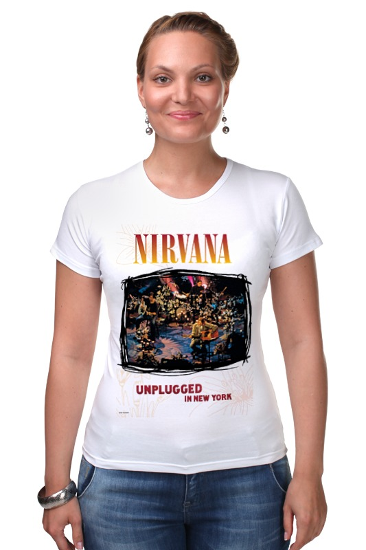 Футболка Стрэйч Printio Nirvana unplagged album t-shirt футболка стрэйч printio new york