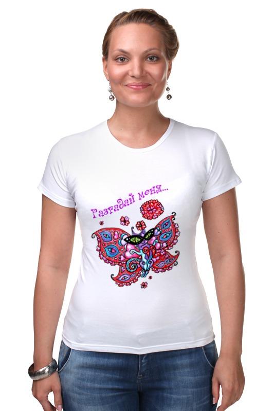 Футболка Стрэйч Printio Женщина-загадка футболка классическая printio женщина загадка