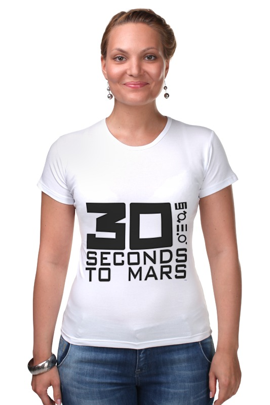 Футболка Стрэйч Printio 30 seconds to mars casio gwn 1000h 9a