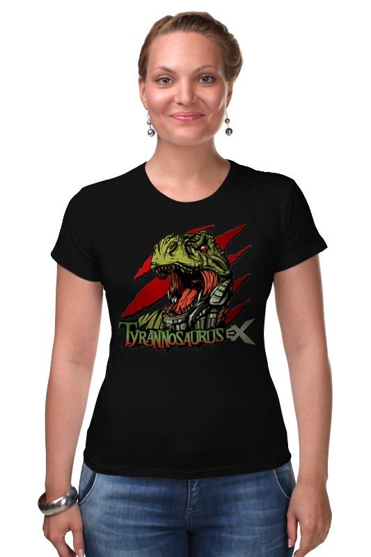 Футболка Стрэйч Printio Тираннозавр селиверстова д пер тираннозавр rex