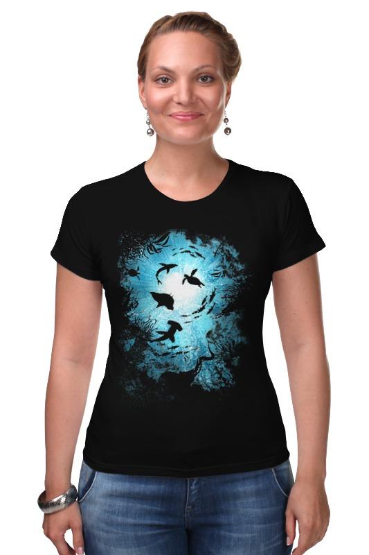 Футболка Стрэйч Printio Подводный мир этот удивительный подводный мир