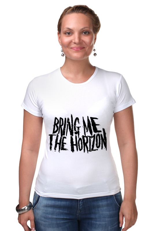 Футболка Стрэйч Printio Bring me the horizon футболка рингер printio bring me the horizon змеи