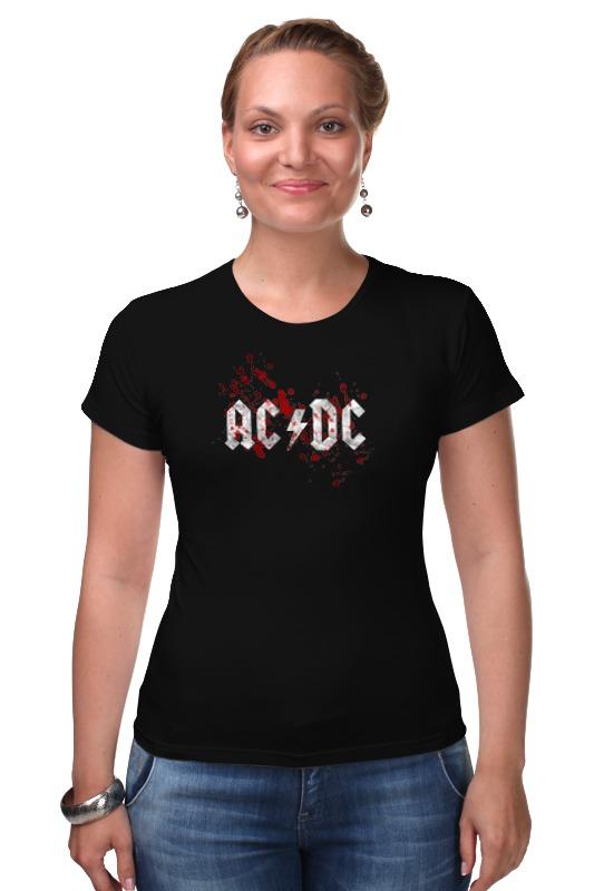 Футболка Стрэйч Printio Ac/dc (австралийская рок-группа) мультиметр uyigao ac dc ua18