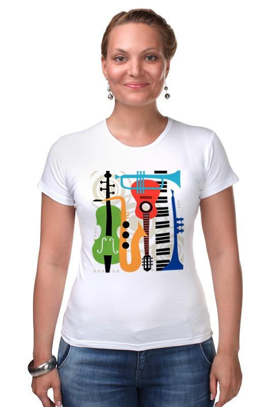 Футболка Стрэйч Printio Музыкальные инструменты музыкальные игрушки s s toys музыкальные инструменты