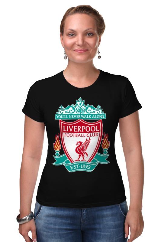 Футболка Стрэйч Printio Liverpool (ливерпуль) футболка стрэйч printio футбольный клуб ска ростов на дону