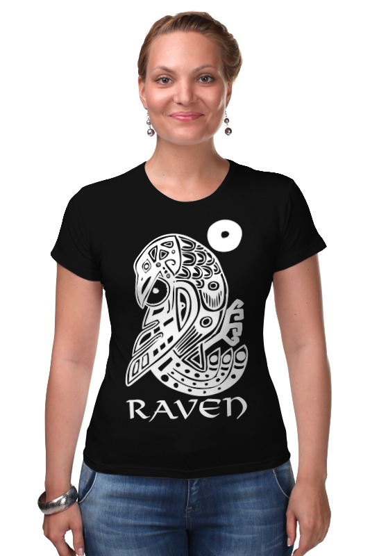 Футболка Стрэйч Printio Raven brand футболка стрэйч printio делай добро