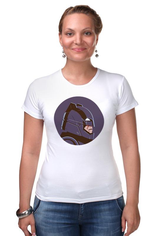 Футболка Стрэйч Printio Бэтмен против супермена бэтмен прот супермена на заре справ blu ray 3d