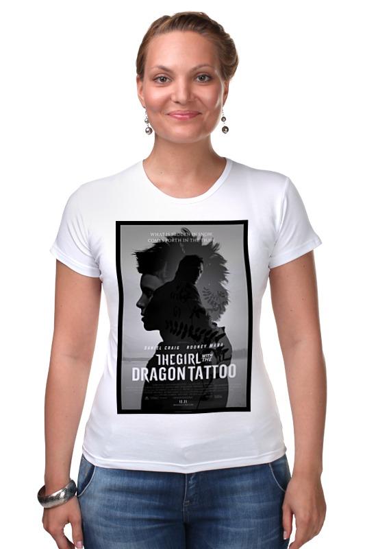 Футболка Стрэйч Printio Девушка с татуировкой дракона в астане книгу девушка с татуировкой