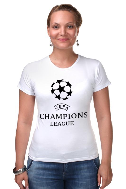 Футболка Стрэйч Printio Лига чемпионов финал лиги чемпионов 2014 реал атлетико видео