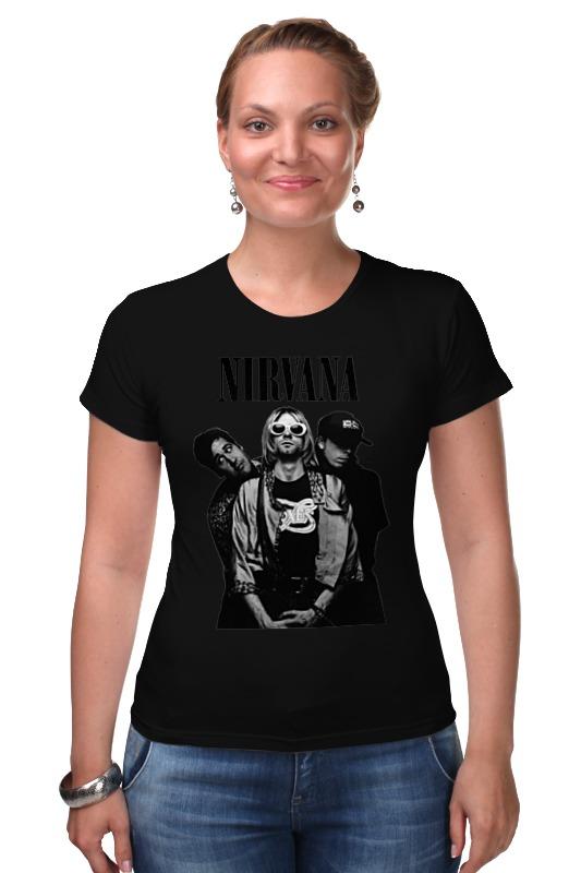 Футболка Стрэйч Printio Nirvana group t-shirt nirvana